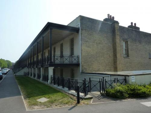 Gosport St George Barracks  Soldiers' Quarters